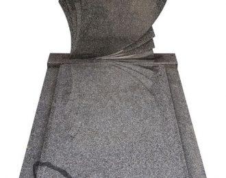 Grafsteen waaier