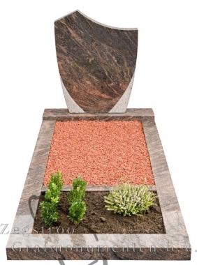 Grafsteen vaas