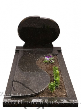 Grafsteen rond