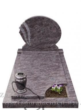 Grafsteen ovaal