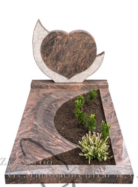 Grafsteen hart