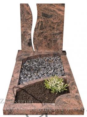 Grafsteen breuk