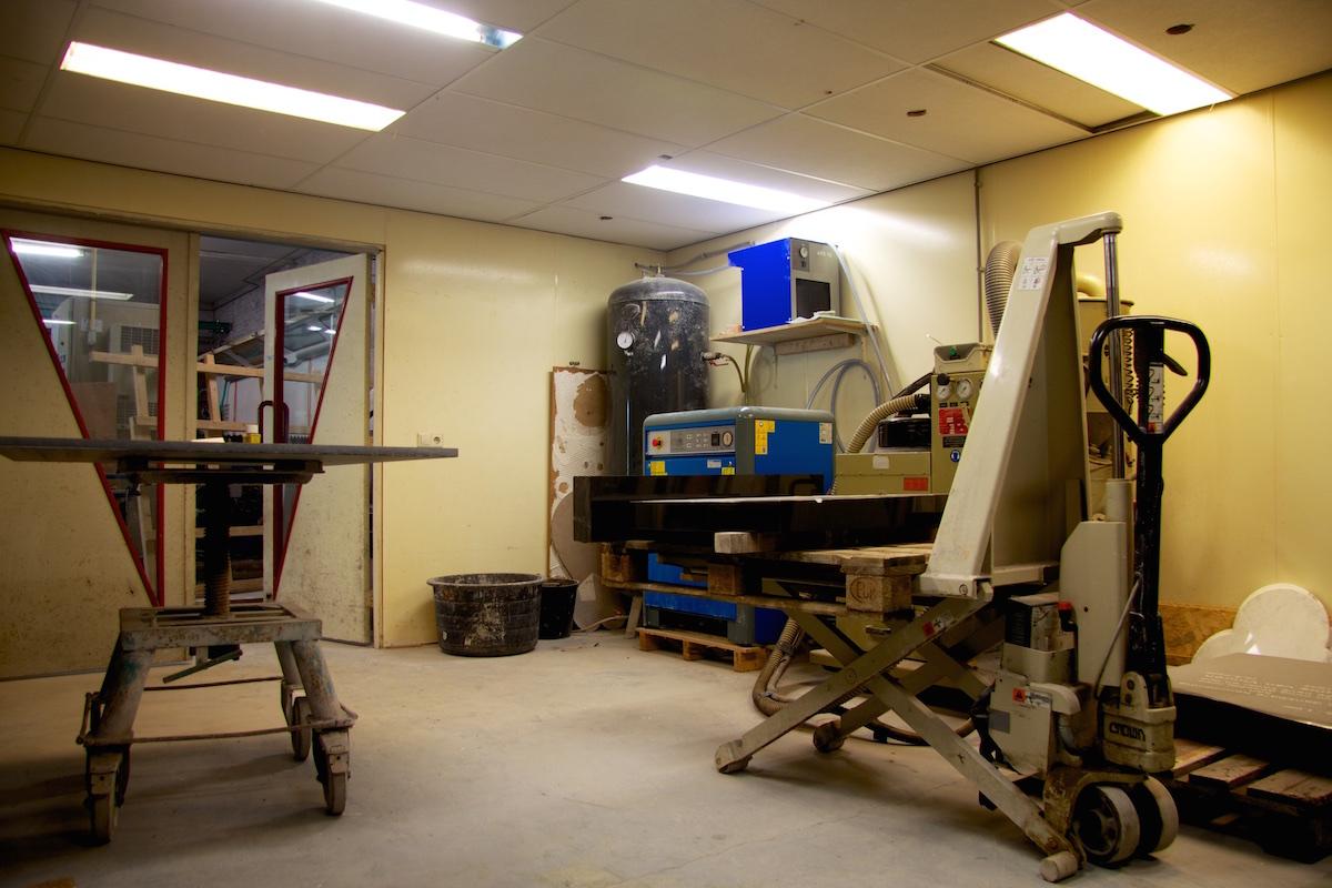 Zegstroo werkplaats 1