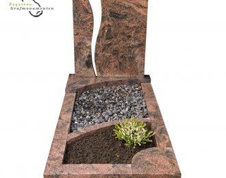 Grafsteen breuk – model D10