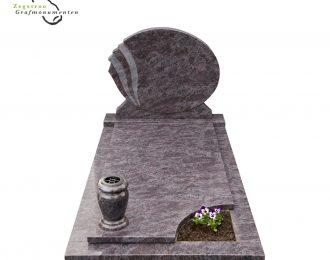 Grafsteen ovaal – B4