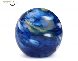 Elements line – small bulb marble blue